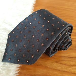 Vintage Oscar De La Renta Handmade Silk Tie